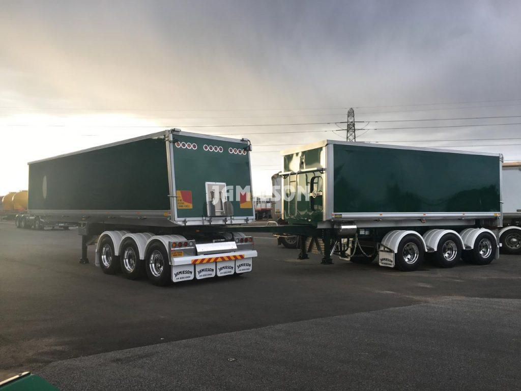 Jamieson 25m Stay Connect - Jamieson Trucks - Side View