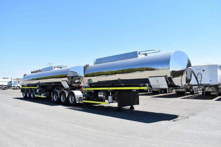 Bitumen 30,000 Litre Ultra Light Tri-Axle Semi Tanker
