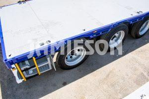 Drop Deck Trailer - Tri-Axle - Road Train Rated