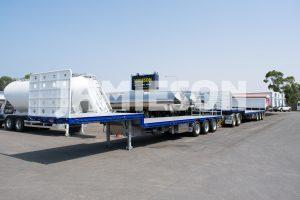 Drop Deck Trailer - Tri-Axle - Road Train Configuration