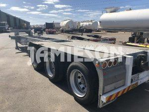 Road Train Trailer - Jamieson Trucks - Rear Side View 2