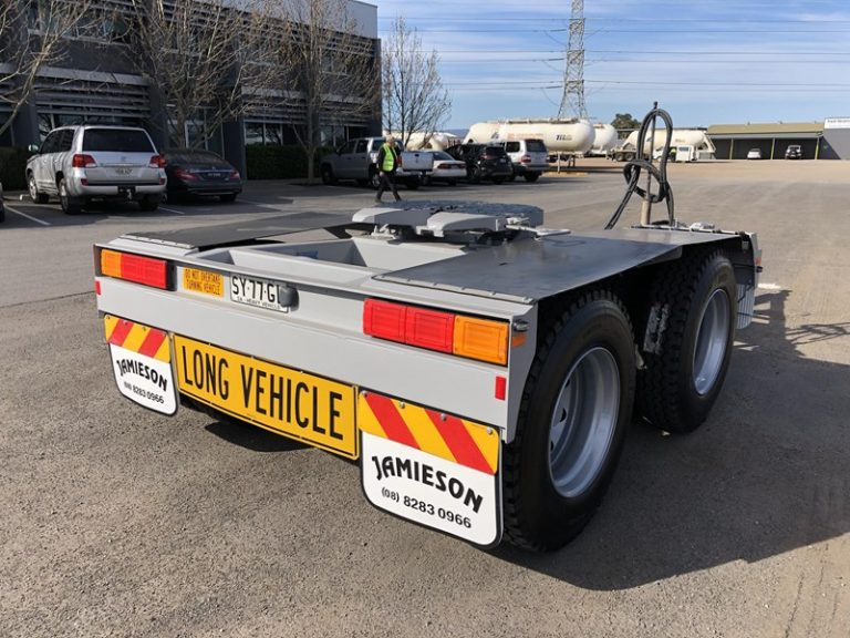 Tandem Dolly - Jamieson Trucks - Front Side View