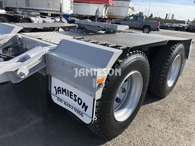 Tandem Dolly - Jamieson Trucks - Rear Side View
