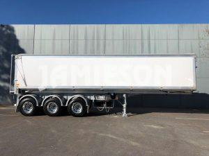 Aluminium Tri Axle Semi Tipper - 10.1m - Side View 2