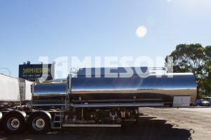 Jamieson Bitumen Tanker