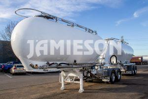 Jamieson Steel Pneumatic Tandem Tanker B-Double Combination