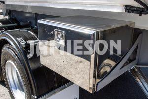 Hardox Metro Tandem Axle Chassis Tipper - 7.3m