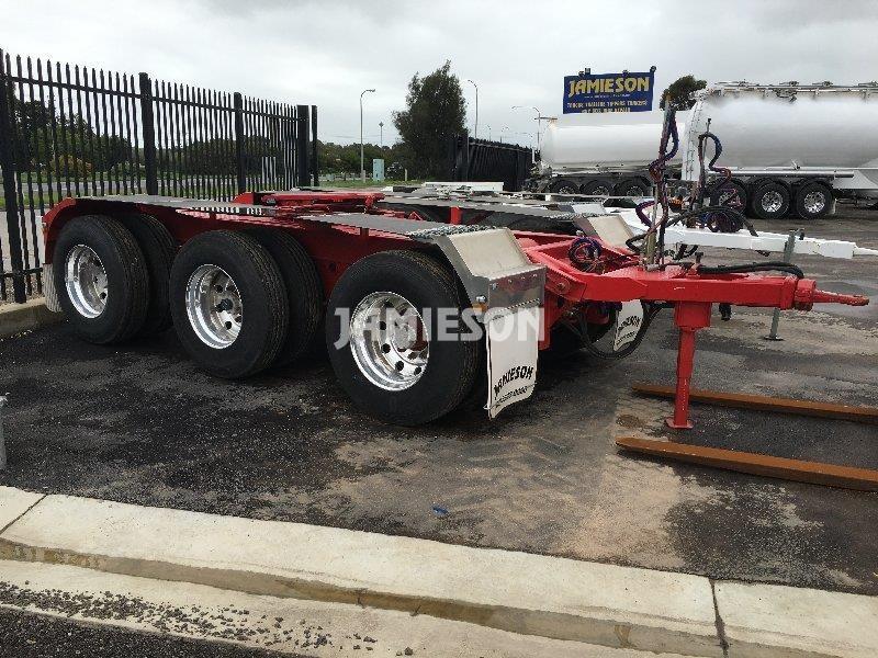 Tri Axle Roadtrain Dolly - Jamieson Trucks - Front Side View 3