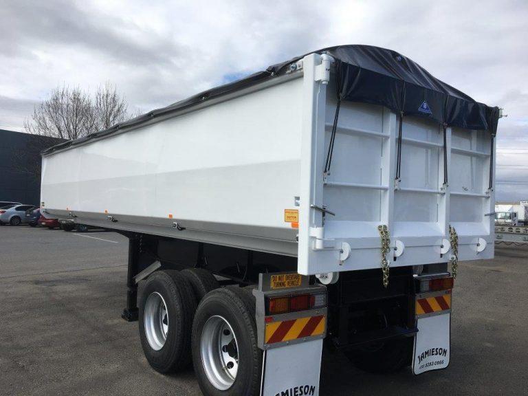 Hardox Metro Tandem Axle Tipper - Jamieson Trucks