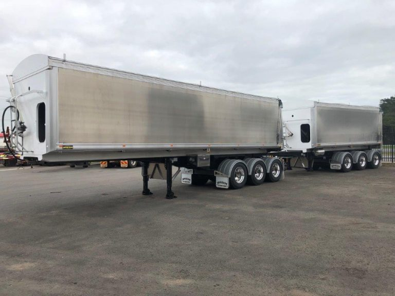 Stayconnect B-Double Lead and Tag Trailer Set