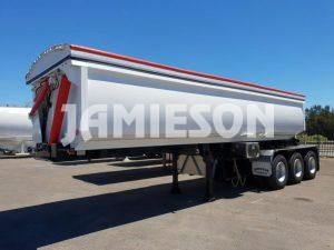 Jamieson Hardox Steel Tri-Axle Side Tipper