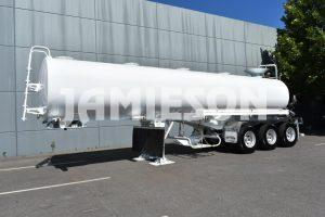 Water Remote Control Tri-axle Semi Tanker - 28kL - Front Side View 2