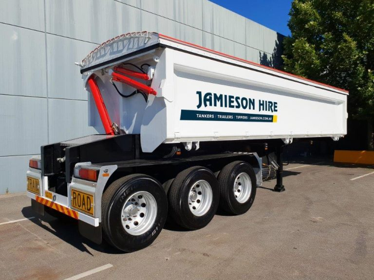 Hardox Side Tipper – Semi Tri Axle Tipper – 8.5m