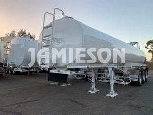 Jamieson Ultra Water Tanker Trailer Tri-Axle - Full Remote Control - 28kL