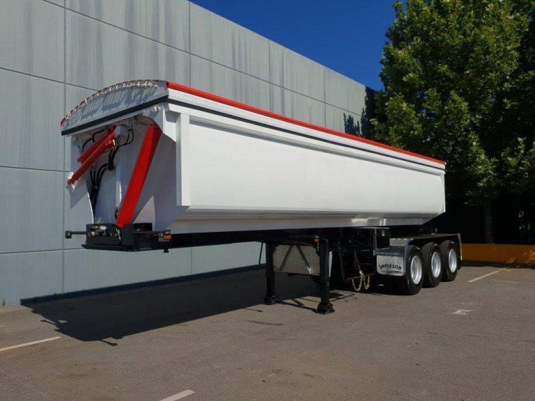 Hardox Side Tipper 8.5m - Front Side View 2
