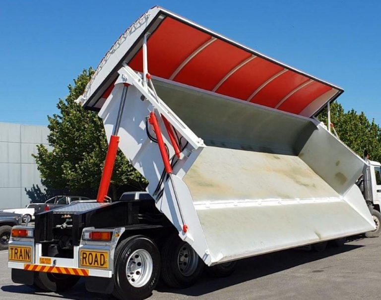 Hardox Side Tipper 8.5m - Tippin View 2