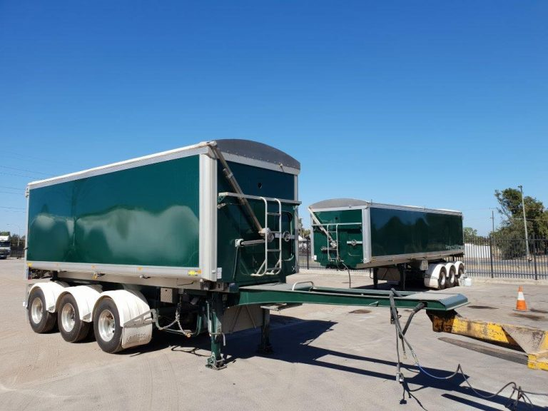 StayConnect B-Double Lead and Tag Trailer Set 2nd Hand