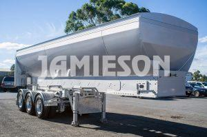HDV - Horizontal Discharge Vehicle Tri Axle Semi Trailer (Live Bottom)