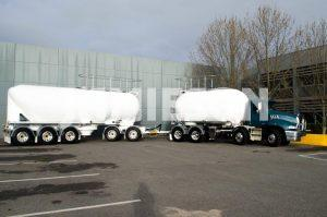 Jamieson Carbon Steel Dry Bulk Tanker - 18m3 / 35m3 Rigid & Dog