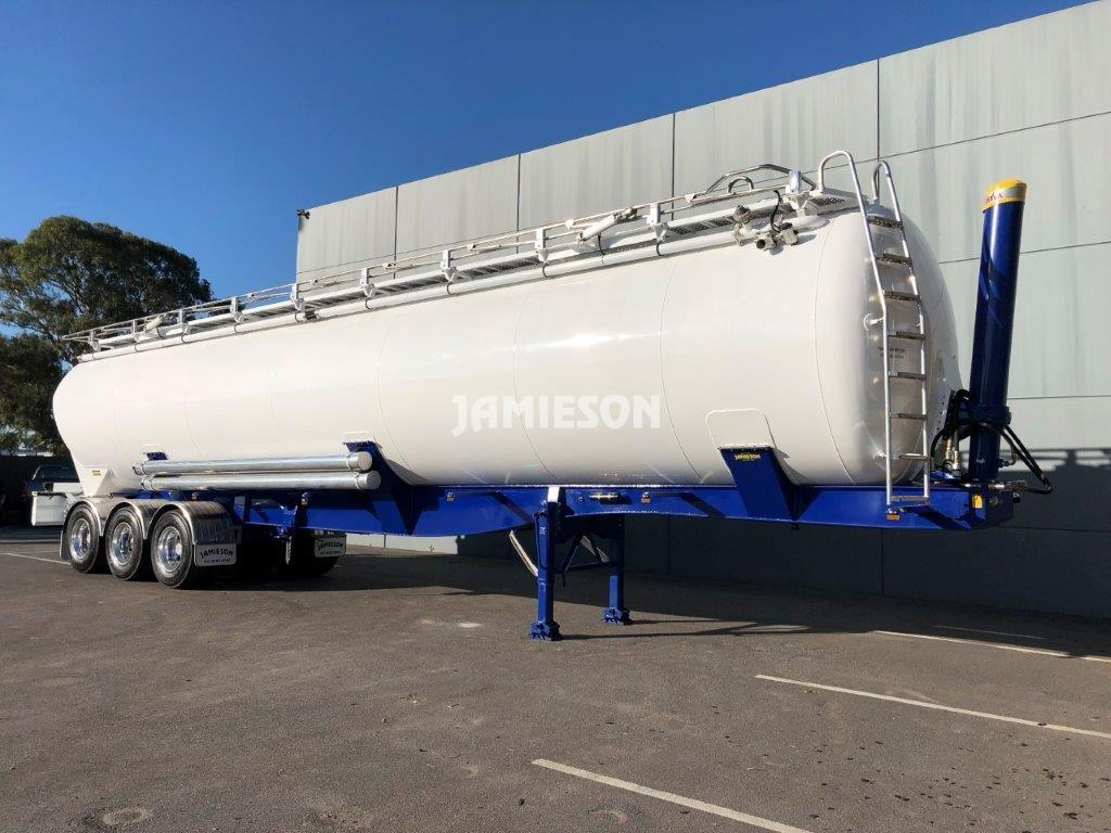 Aluminium Dry Bulk Tipping Tanker - 64m3