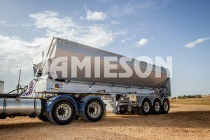 Jamieson Live Bottom Trailer / HDV (Horizontal Discharge Vehicle) - Tri Axle