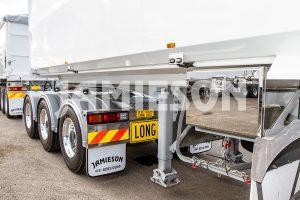 B-Double Steel Tipper Combination - Road Train