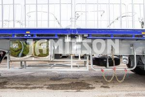 Flat Top Road Train Tri-Axle Semi Trailers including Tri-Axle Dolly