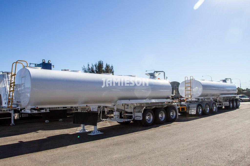 Water Tanker All Purpose Remote Control - Road Train Combination - 28kL