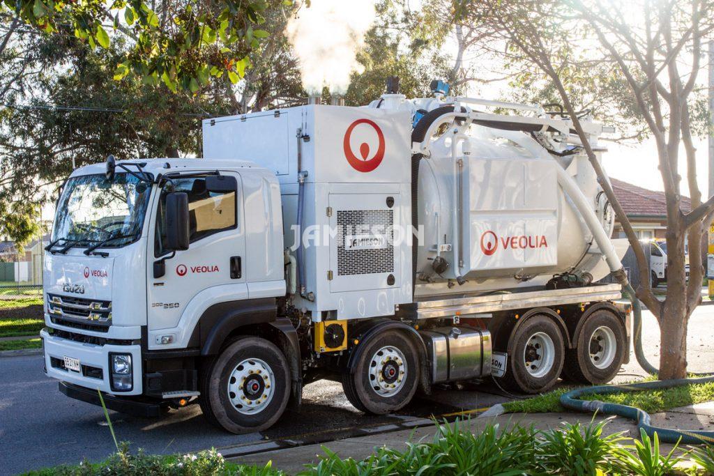 IRVT5000 8x4 Industrial Recovery Vac Truck - Vacuum / Hydro Excavation Unit - 5000CFM