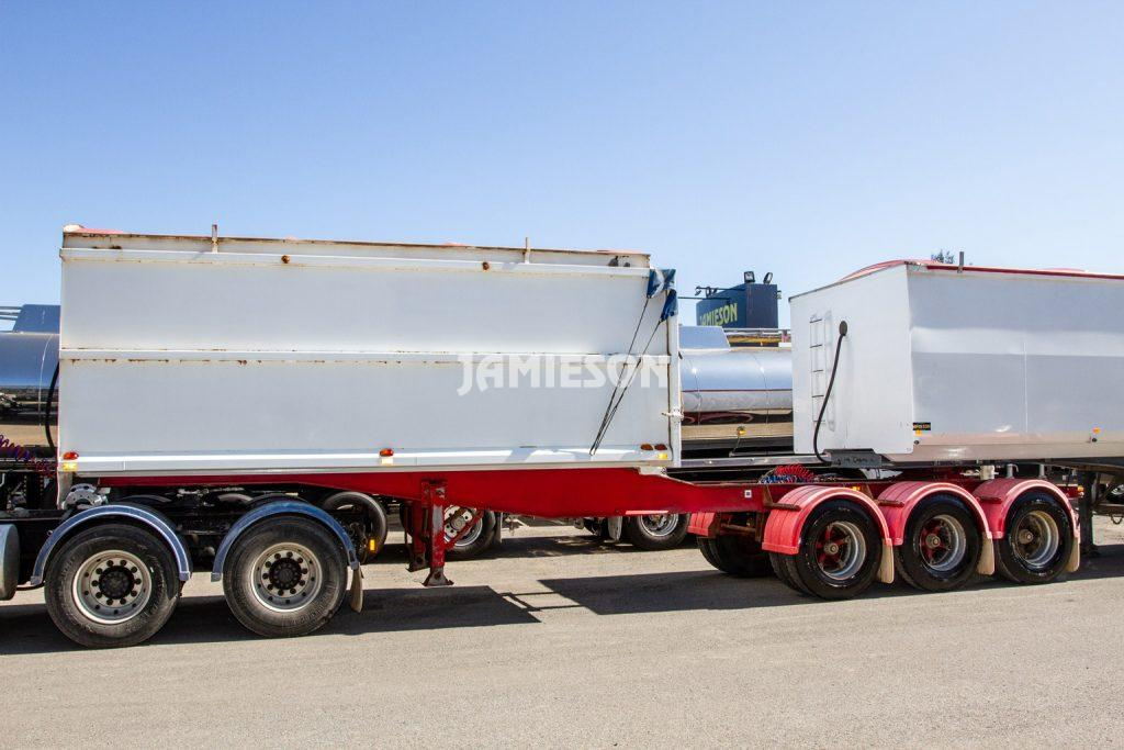 10373/10374 - Triad Lead Trailer & Boomer B-Double Tipper Combo