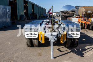 Tri-Axle Dolly - Sprung Rubber Mud Guard