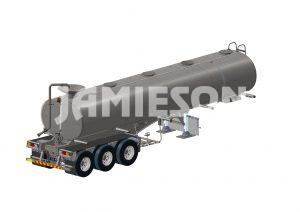 Water Tanker Tri-Axle All-Purpose - 30kL