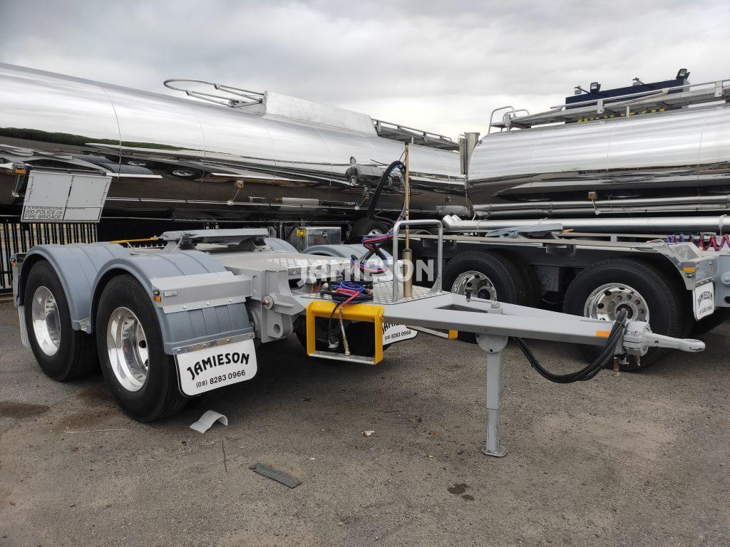 Dolly - Tandem Axle - Road Train - Plastic Guards