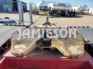 Jamieson Tandem Axle / Bogie Dolly BPW, Air Bag Suspension