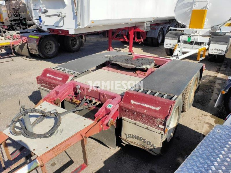 2013 Jamieson Bogie / Tandem Axle Dolly BPW, Air Bag
