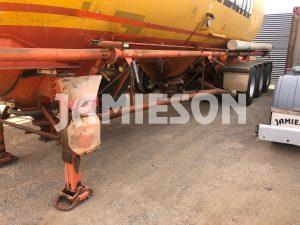 2005 Kockums Pneumatic / Dry Bulk Tanker - 40m3 Tri-Axle