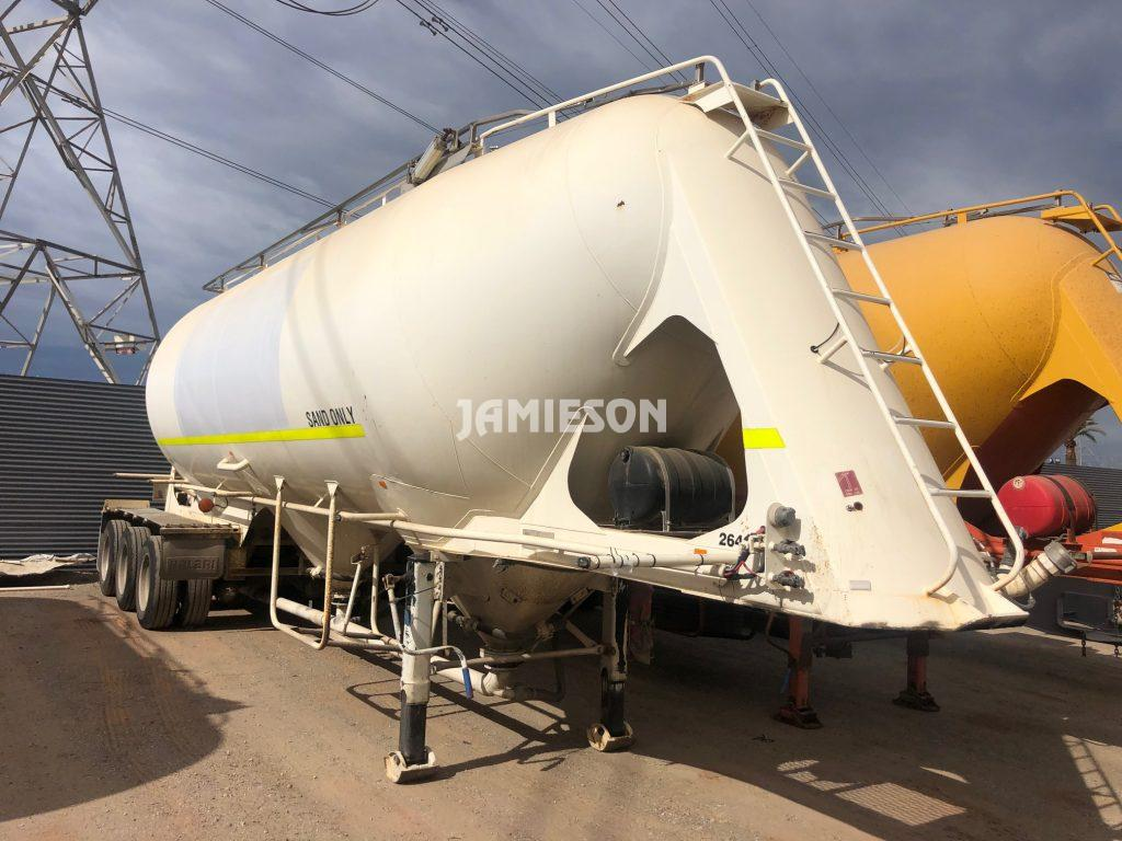 2004 Kockums Pneumatic / Dry Bulk Tanker - 40m3 Tri-Axle - Road Train Rated