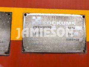 1996 Kockums B-Double Pneumatic / Dry Bulk Tanker Set - 32m3 / 32m3 Tri-Axle