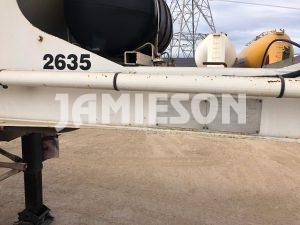 2001 Kockums Pneumatic / Dry Bulk Tanker - 36m3 Tri-Axle - Road Train Rated