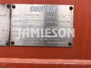 2008 Convair Pneumatic / Dry Bulk Tanker - 42m3 Tri-Axle