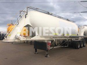 Kockums Pneumatic / Dry Bulk Tanker - 36m3 Tri-Axle - Road Train Rated