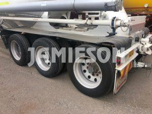 Kockums Pneumatic / Dry Bulk Tanker - 36m3 Tri-Axle - Road Train Rated