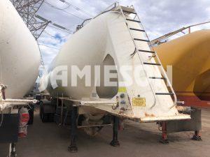 2004 Kockums Pneumatic / Dry Bulk Tanker - 40m3 Tri-Axle - Road Train Rated