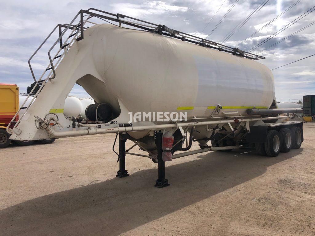 2001 Kockums Pneumatic / Dry Bulk Tanker - 36m3 Tri-Axle - Road Train Rated