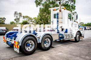 Used Kenworth T659 Day Cab Prime Mover - 6X4 - Low Kms - For Sale at Jamieson Australia
