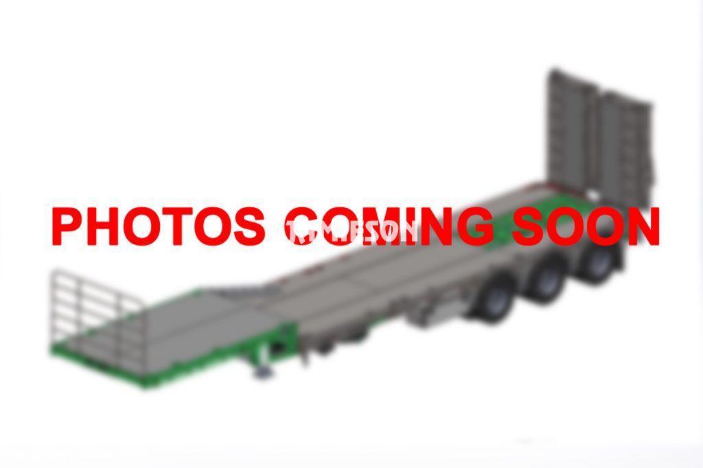 Heavy Duty Expanding Drop Deck Trailer With Bi-Fold Hydraulic Ramps - Tri-Axle - 13.7m (45')