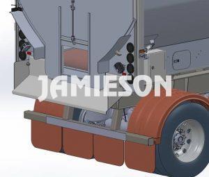 HDV (Horizontal Discharge Vehicle) Live Bottom Trailer - Tri Axle - 43'